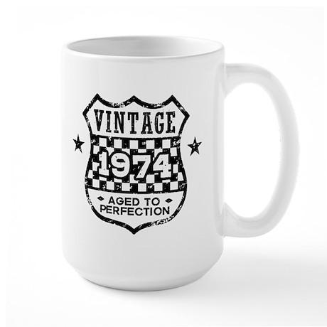 Vintage 1974 Large Mug