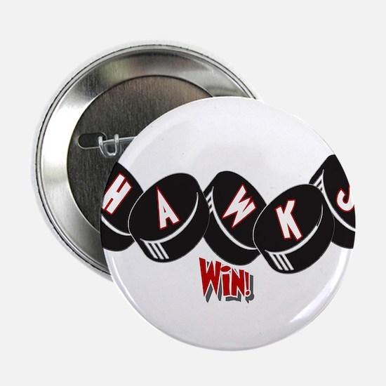 "Hawks Win! 2.25"" Button"