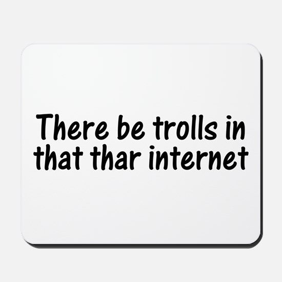 Trolls in Internet Mousepad