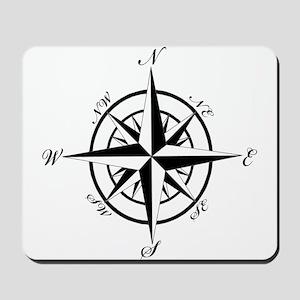 Vintage Compass Mousepad