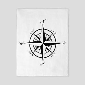 Vintage Compass Twin Duvet