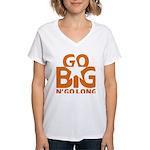 Go Big Women's V-Neck T-Shirt