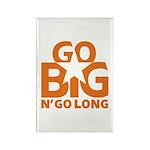 Go Big Rectangle Magnet (10 pack)