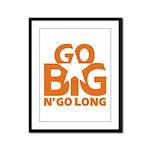 Go Big Framed Panel Print