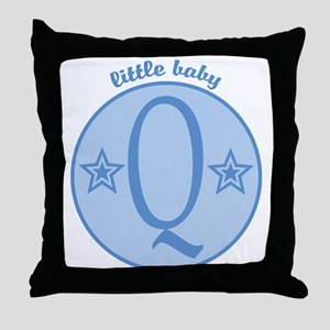 Baby Q Throw Pillow