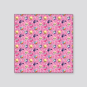 MLP Pattern Pink Sticker