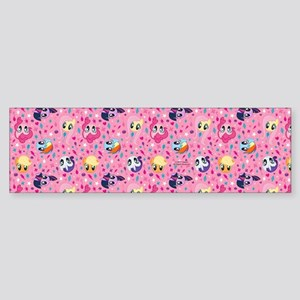 MLP Pattern Pink Bumper Sticker