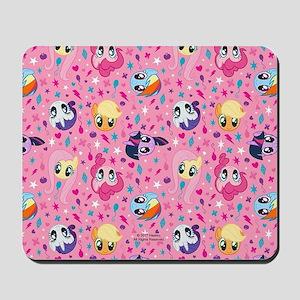 MLP Pattern Pink Mousepad
