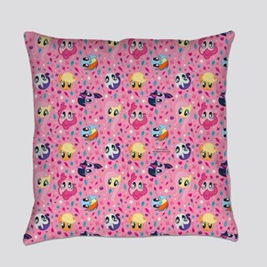MLP Pattern Pink Everyday Pillow