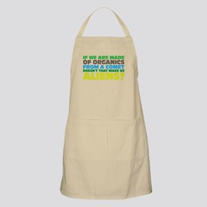 Are we all aliens? Apron