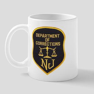 New Jersey Corrections Mug
