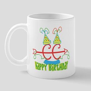 Cross Country Running front/back Birthday Mug