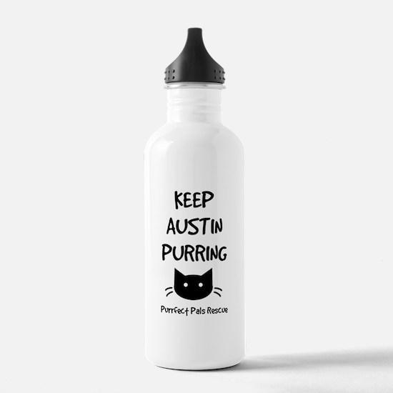 Keep Austin Purring Water Bottle