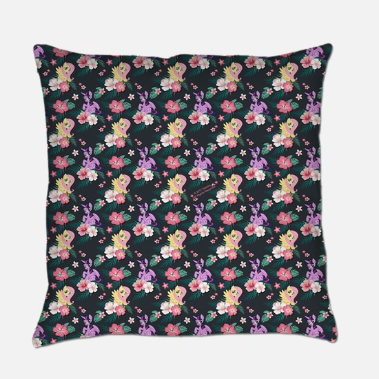 MLP Flower Pattern Everyday Pillow