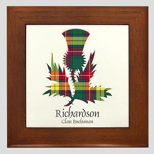 Unicorn-Richardson.Buchanan Framed Tile