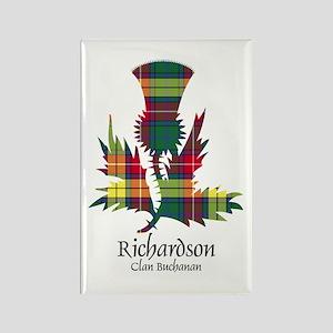 Unicorn-Richardson.Buchanan Rectangle Magnet