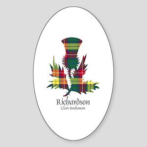 Unicorn-Richardson.Buchanan Sticker (Oval)