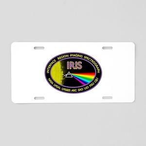 IRIS Aluminum License Plate
