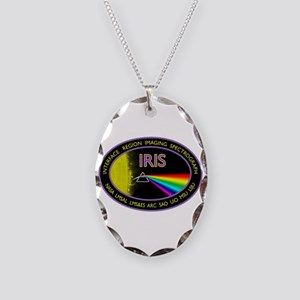 IRIS Necklace Oval Charm