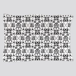 Black & White Damask #24 Pillow Case