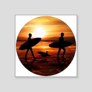 Sunset Surfers Sticker