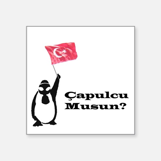 Çapulcu musun? Penguin for Gezi Park Sticker