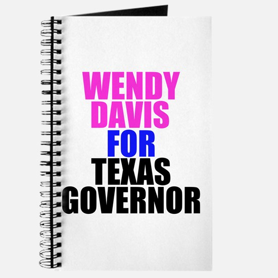 Wendy Davis for Governor Journal