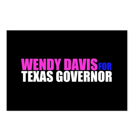 Wendy Davis for Governor Postcards (Package of 8)