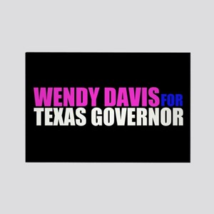 Wendy Davis for Governor Rectangle Magnet