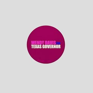 Wendy Davis for Governor Mini Button