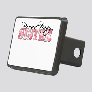 Proud Navy Sister (Pink Butterfly Camo) Rectangula