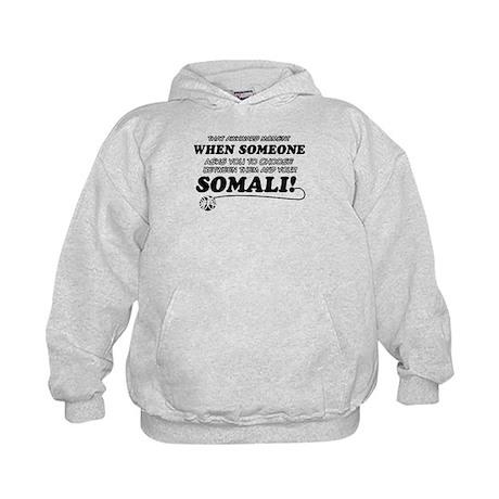 Unique Somali designs Kids Hoodie
