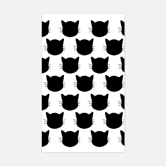 'Cats' Sticker (Rectangle)