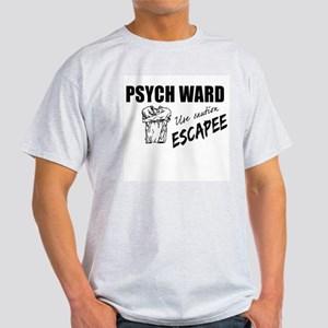 Psych Ward Escapee Ash Grey T-Shirt