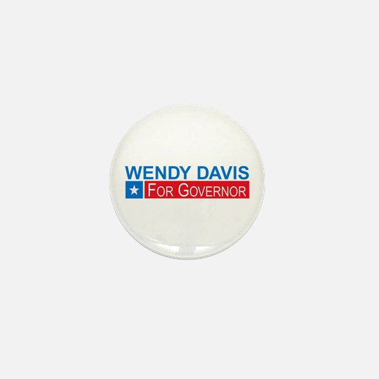 Wendy Davis Governor Democrat Mini Button