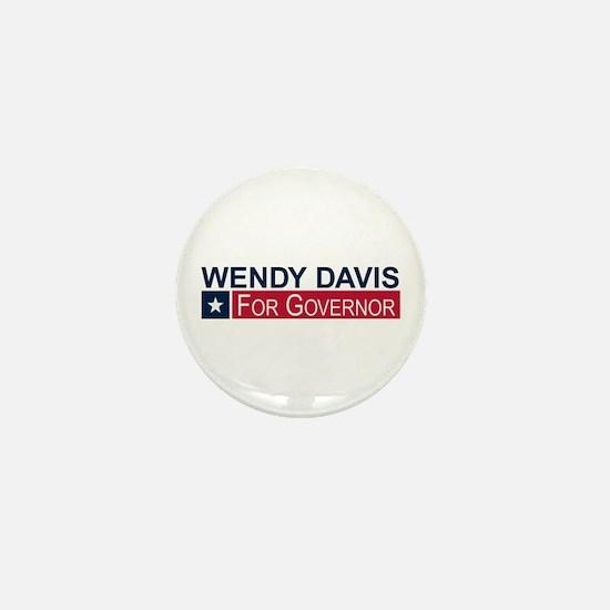 Wendy Davis Governor Texas Mini Button