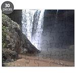 Base of Noccalula falls Puzzle