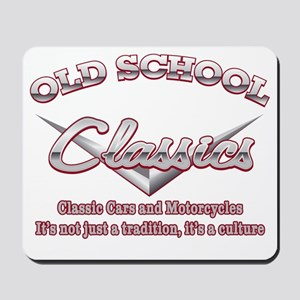 Old School Classics Mousepad