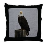 Comox Eagle Throw Pillow
