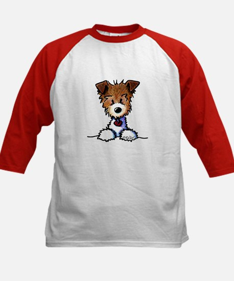 KiniArt Pocket JRT Kids Baseball Jersey