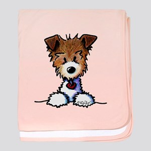 KiniArt Pocket JRT baby blanket