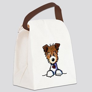 KiniArt Pocket JRT Canvas Lunch Bag