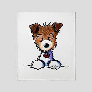 KiniArt Pocket JRT Throw Blanket