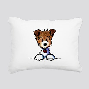 KiniArt Pocket JRT Rectangular Canvas Pillow