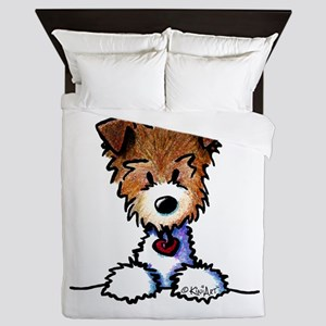 KiniArt Pocket JRT Queen Duvet