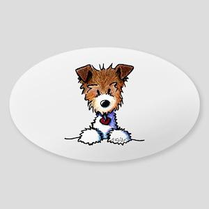 KiniArt Pocket JRT Sticker (Oval)