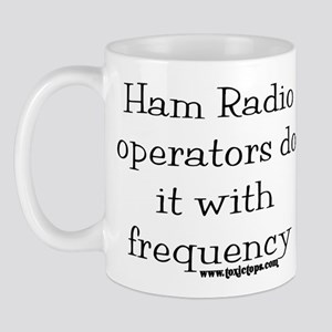 Ham Radio Operators Do It (2) Mug