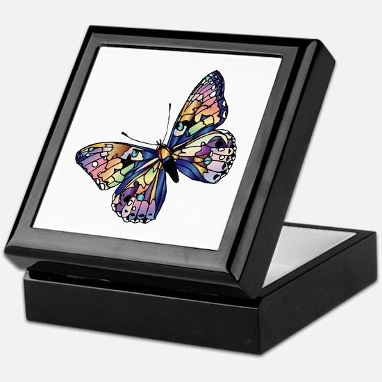 Exotic Butterfly Keepsake Box