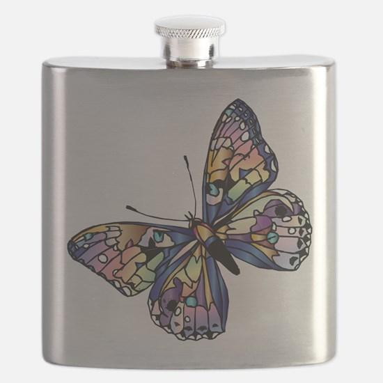 Exotic Butterfly Flask