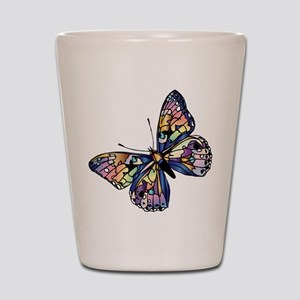 Exotic Butterfly Shot Glass